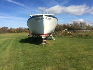 1995 Cape Egmont 45ft fishing boat