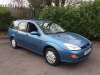 2001 Ford Focus Estate 1.6 Lx - 14 Main Dealer Service Stamps
