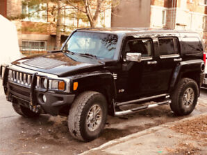 HUMMER H3 automatic, noir, LEATHER Heated seats