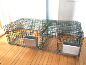 hanging rabbit cages