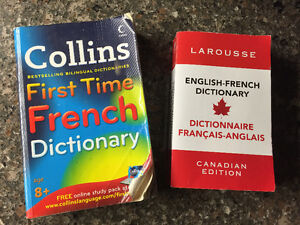 2 English- French dictionary's