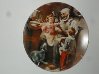 Norman Rockwell Plates Heritage