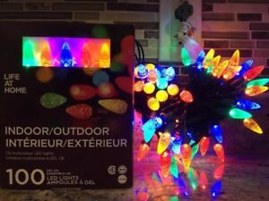 New Indoor or outdoor multicolour 100 LED light decoration