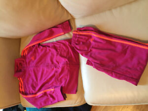 Adidas track suit size 6X