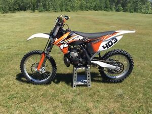 2012 KTM250sx 2 stroke with 300 kit