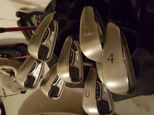 Ping full set (G20 irons, G2 driver, wood) with bag, putter Windsor Region Ontario image 5