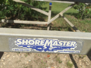 Wow!!! Hurry this won't last Shoremaster boat lift for sale.