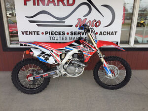 MOTOCROSS HONDA CRF450R 2015 IMPECABLE