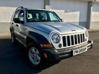 2006 Jeep Cherokee Sport 2.8TD (161bhp) 4X4 Auto **Only 41,000 Miles**