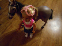 newberry doll and horse