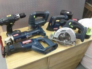 18 Volt Power Tool Set