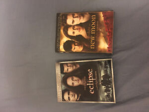 2 Twilight Movies on DVD!!