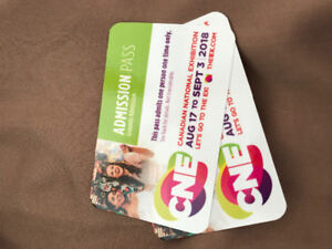 CNE All Ages Admission Passes (x2)
