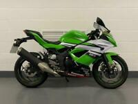 Ninja 250 special edition Very low miles A2 compliant MOT and service