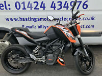 KTM Duke 125 / Naked Street Fighter / Learner Legal / Nationwide Delivery