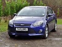 Ford Focus 1.6 Zetec Navigator 5dr PETROL AUTOMATIC 2014/14