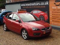 FORD FOCUS ZETEC CLIMATE TDCI, Red, Manual, Diesel, 2007