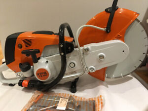 Stihl TS 700 quick cut/cut off saw/concrete saw 14 inch brandnew