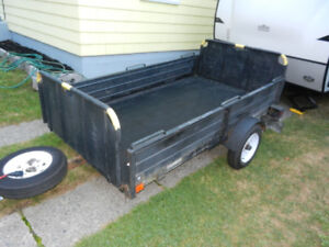 SnowBear Utility trailer with cover 8x4