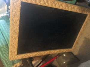 2 large chalk boards - selling as a pair