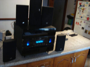 Stereo sound 5.1 channel sound system with remote