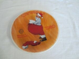 Christmas 1980 Norman Rockwell Plate