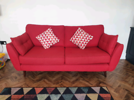 French Connection (Zinc Range) - 3 Seater Sofa & Arm Chair