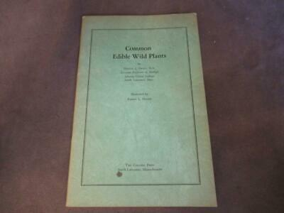 1957 COMMON EDIBLE WILD PLANTS Harold Drake ch2p