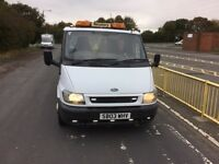 Ford transit recovery 2003 03 met white 3195