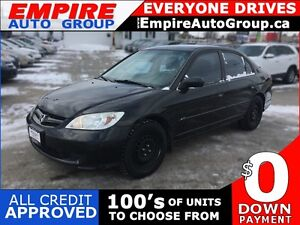 2005 HONDA CIVIC VALUE PACKAGE * POWER GROUP * LOW KM