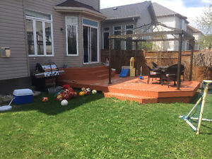 SOLD - Free Large Deck