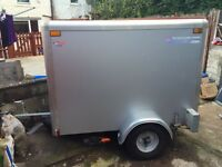 Indespension box trailer 6x4x4 feet 750kg