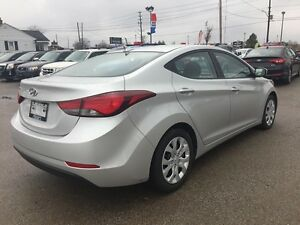 2015 HYUNDAI ELANTRA POWER GROUP * SAT RADIO SYSTEM * LIKE NEW London Ontario image 6