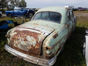 1951 Ford Meteor 2dr Coupe project