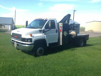 2006 GMC C5500 TopKick with heila picker new deck