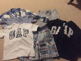 Boys clothing gap bundle age 4