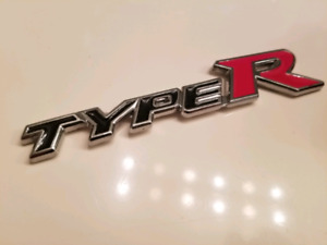 Type R Emblem for Honda or Acura - Brand New Never Used