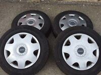 VW T5 Wheels X 4