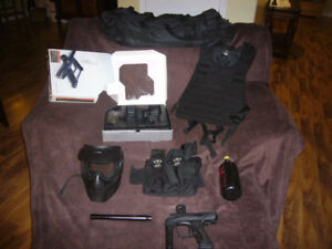 Vibe Paintball Gun, Helmet, Accessories, Paintballs