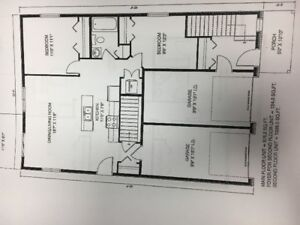 Brand New - 2 storey duplex Available March 30th