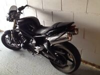 TRIUMPH STREET TRIPLE 675 2009 SPARES OR REPAIRS IDEAL TRACK BIKE
