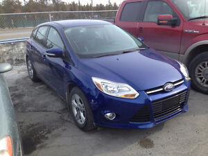2012 Ford Focus Hatchback - still with premium care warranty