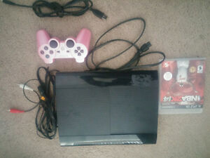 Playstation 3 Console with 2 Games