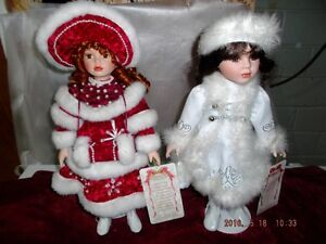 Collectable Porcelain musical dolls for sale