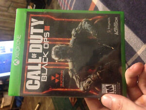 Call of Duty Black OPS 3 for Xbox one.