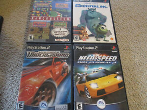 Playstation 2 games set of four games