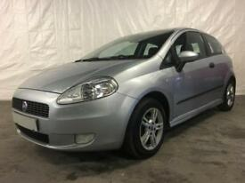 2007 FIAT PUNTO 1.2 Active White Hatchback 3d 1242cc