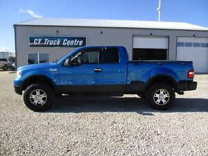 2005 Ford F-150 FX4 Flairside Lift Low Kms New Motor 4x4