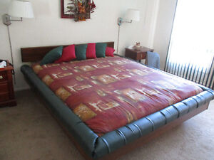 King size waterbed for sale 400.00 OBO