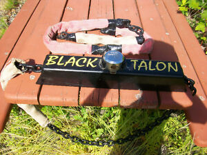 BLACK TALON MOTORCYCLE LOCK